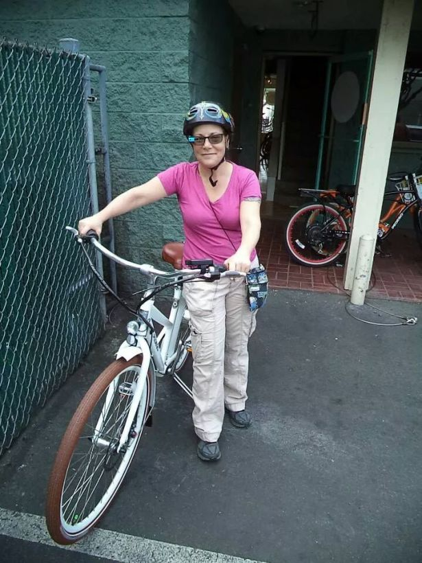 Google Glass and my new Pedego bike